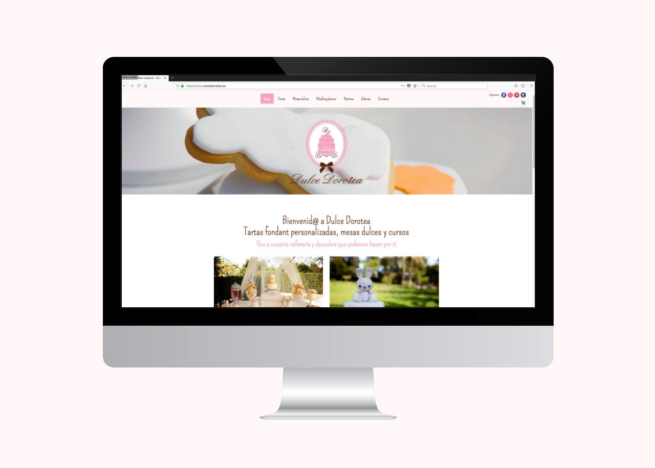 Dulce Dorotea: Cafetería, tartas fondant personalizadas, repostería creativa y eventos