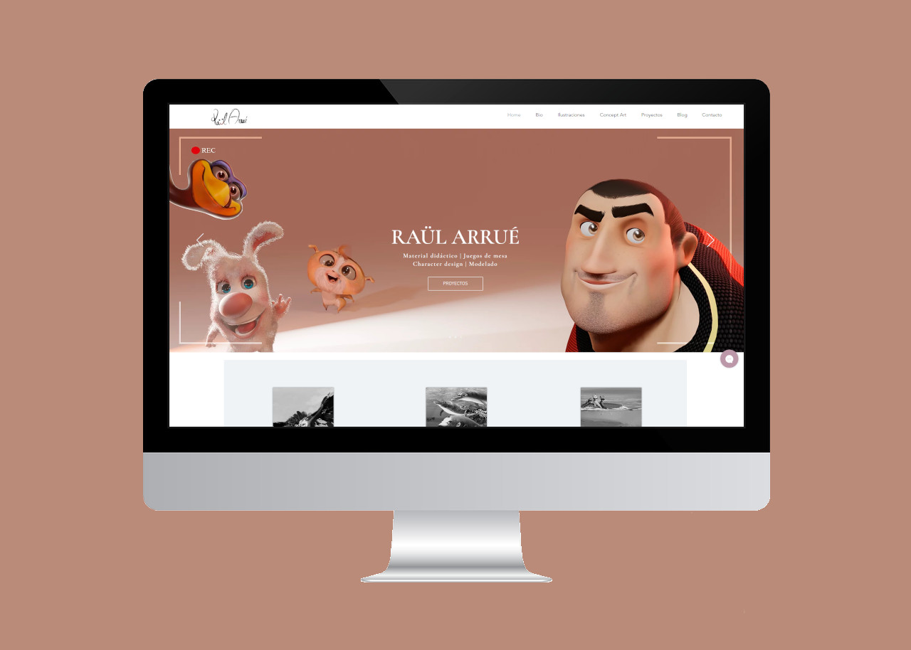 Raül Arrué: Ilustrador