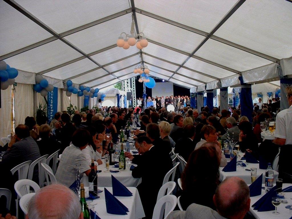 Events mit 350 Mitarbeitern