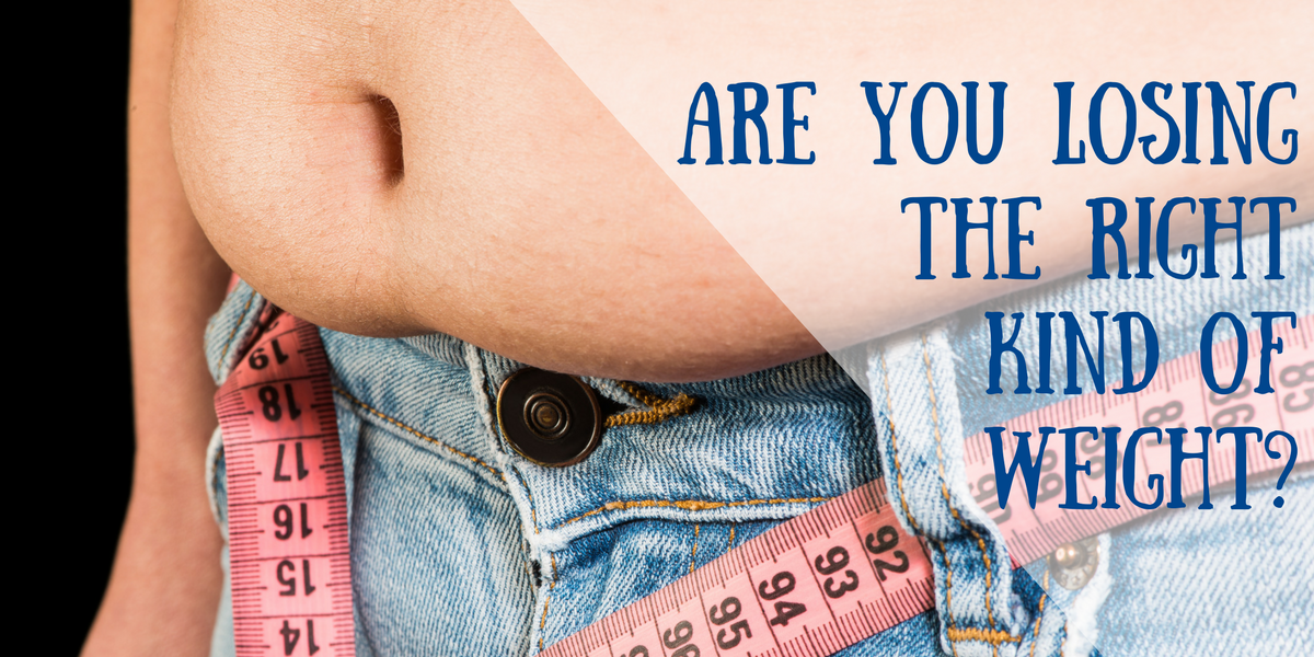 "Losing ""weight"" is probably not your best option. Learn to lose ""fat"" and look even better"