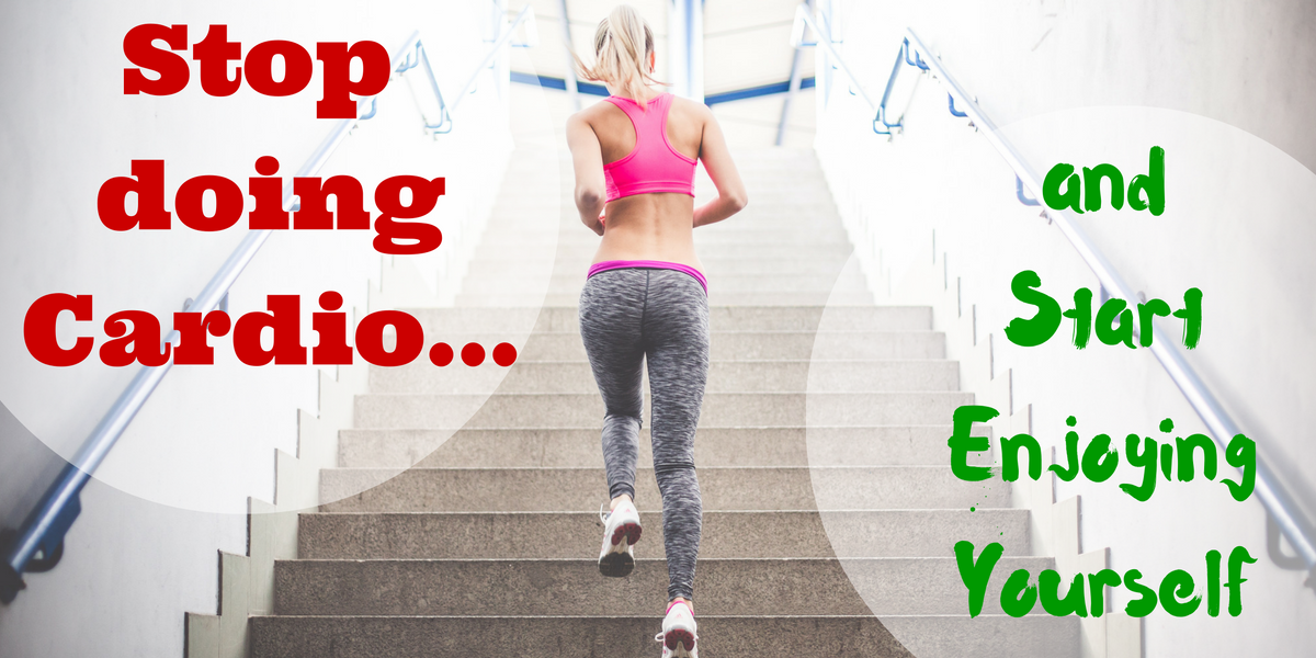 "If you hate wasting time on ""treadmill"", find out how to make getting exercise much more enjoyable"