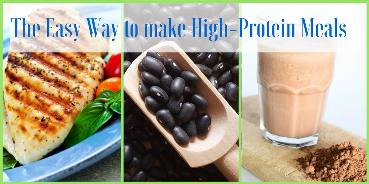 Sick of trying to make high protein meals all the time? Try this.