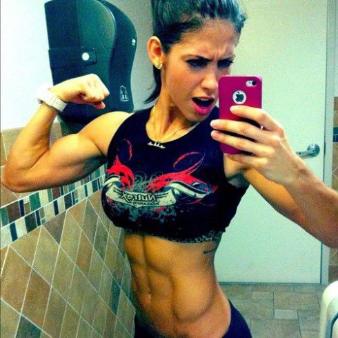 Taking selfies is one of the easiest ways to monitor your physical progress on a particular diet or training regime. Seeing changes in your body is great for motivation.