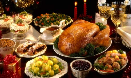 Just go to town on that Christmas feast and enjoy every morsel