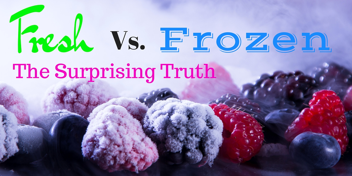 Always thought frozen food was nutritionally inferior? Think again!