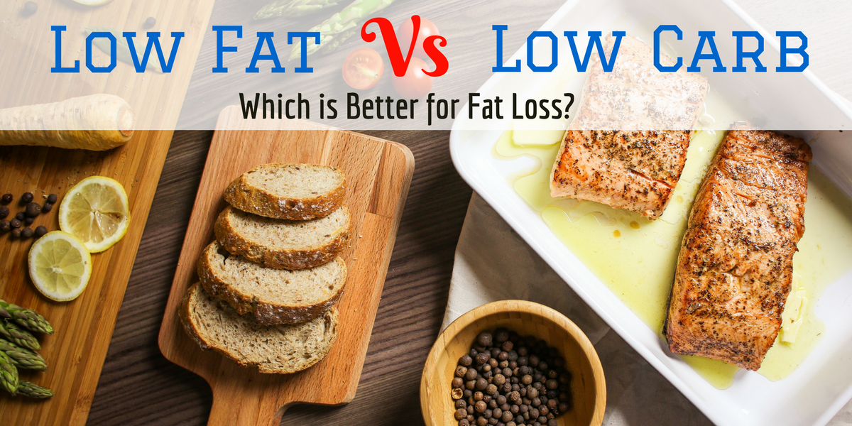 Low Fat or Low Carb for Fat Loss? Learn what science has to say on the matter!