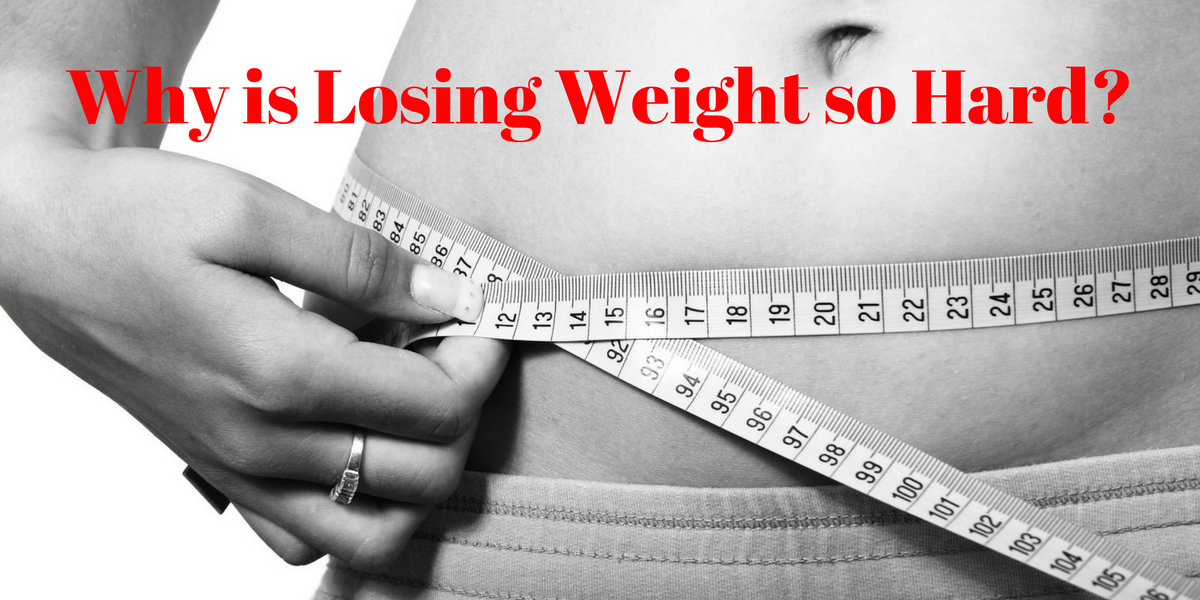 Learn one of the reasons why it feels like your body doesn't want to lose weight