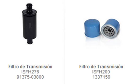 FILTRO TRANSMISION montacarga accesorio partes refacciones accesorios montacargas mexico partes
