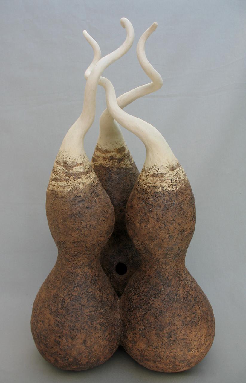 Triple Birdhouse Gourd