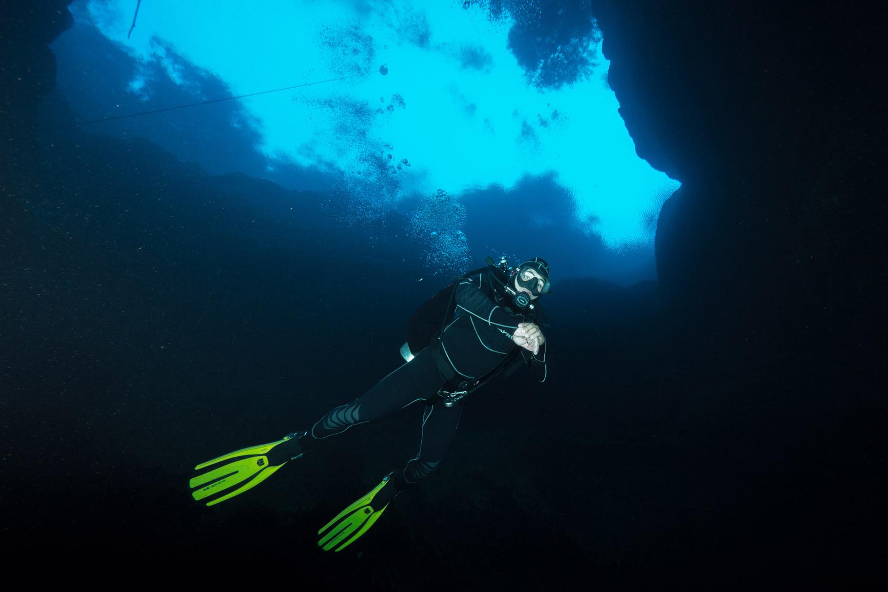 Scuba diving Lagoa Misteriosa, Bonito