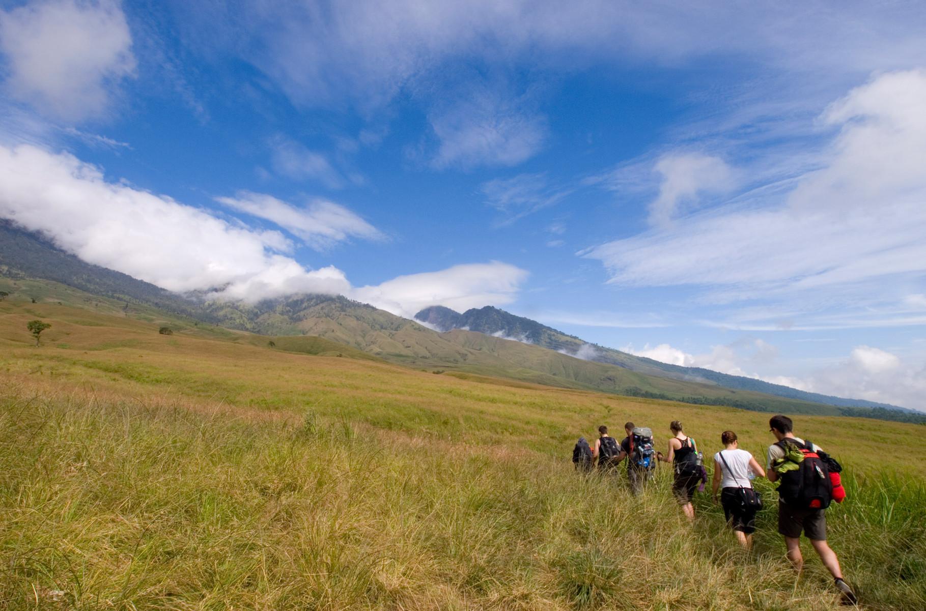 Hiking Rinjani Volcano on Lombok