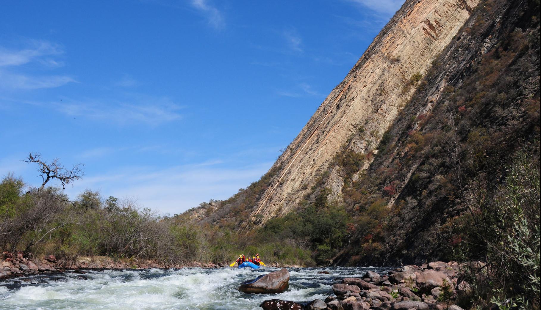 River rafting Rio Juramento, Salta [Argentina, 2014]