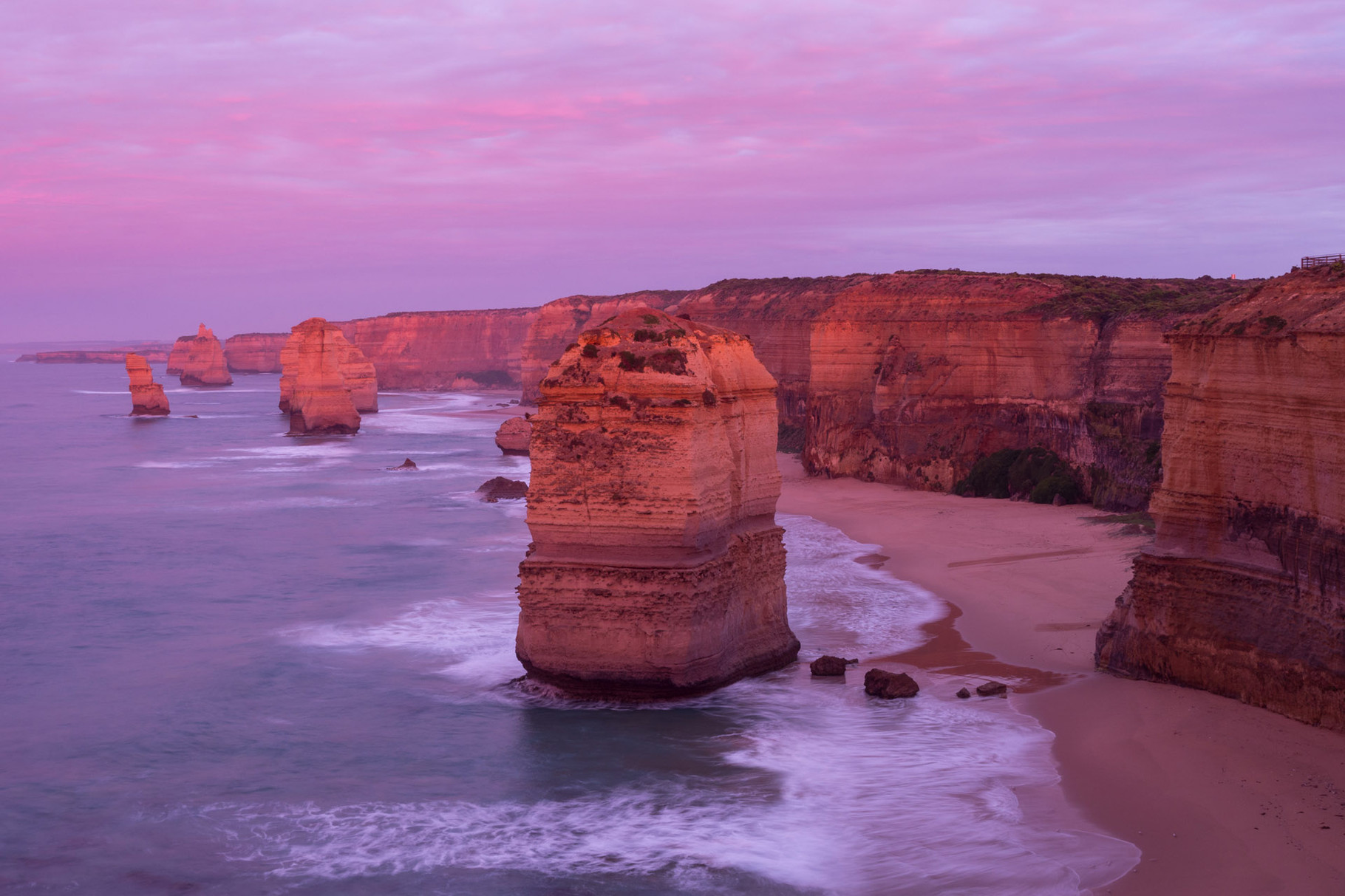 Twelve Apostels at sunrise, Great Ocean Road