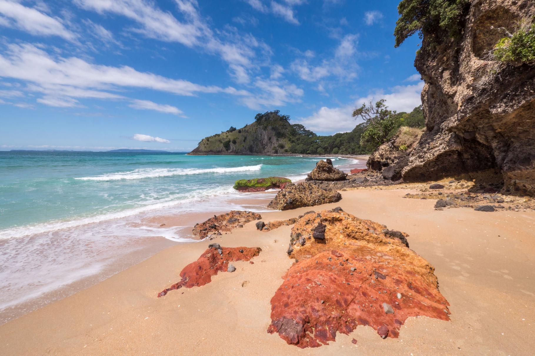 New Chums Beach, Coromandel Peninsula [New Zealand, 2014]