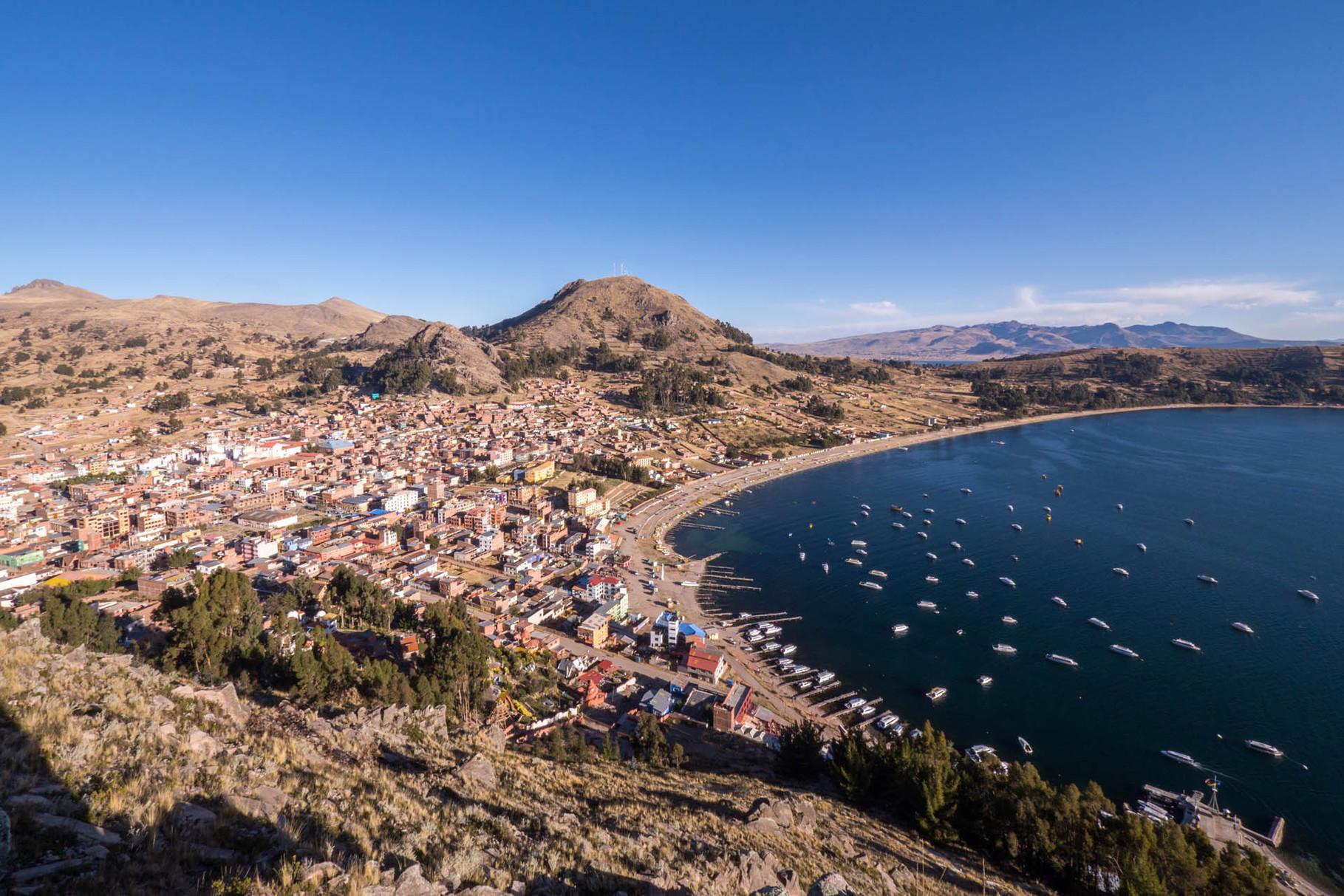 Copacabana at Lake Titicaca (3840masl) [Bolivia, 2014]