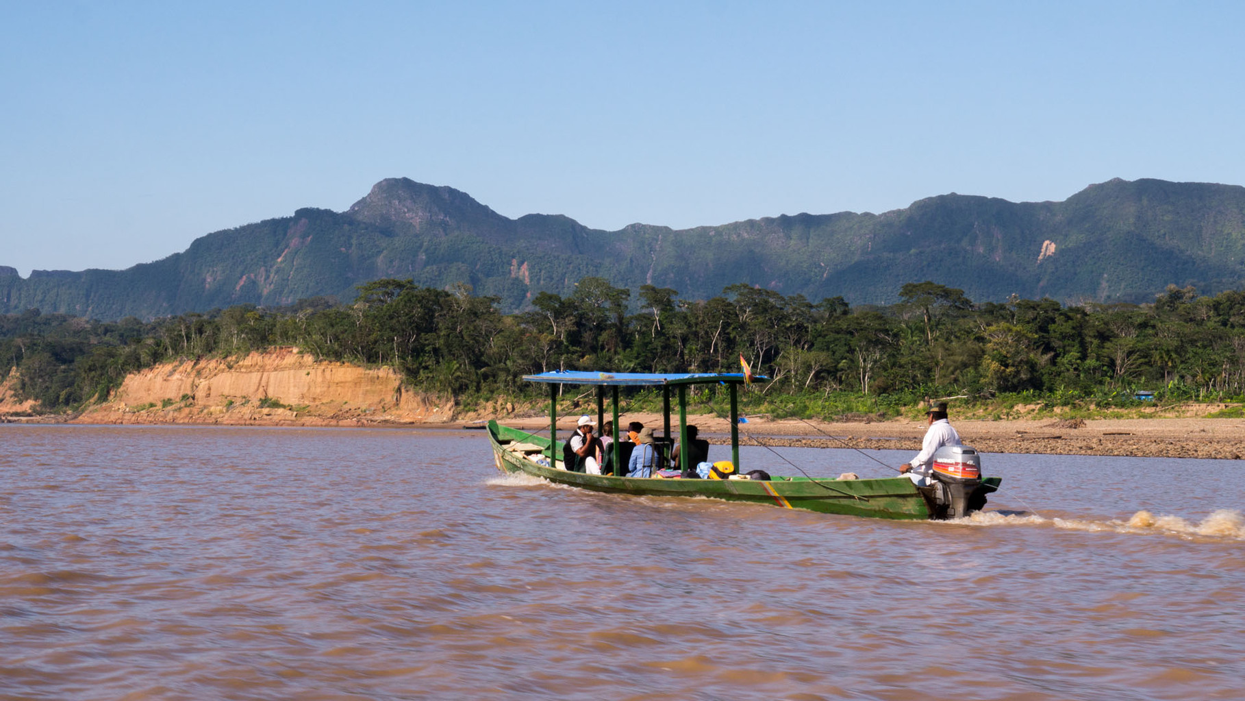 Amazon basin, Madidi Nationalpark (250 masl), Rio Beni/Rio Tuichi which ultimately flow into the Rio Amazonas