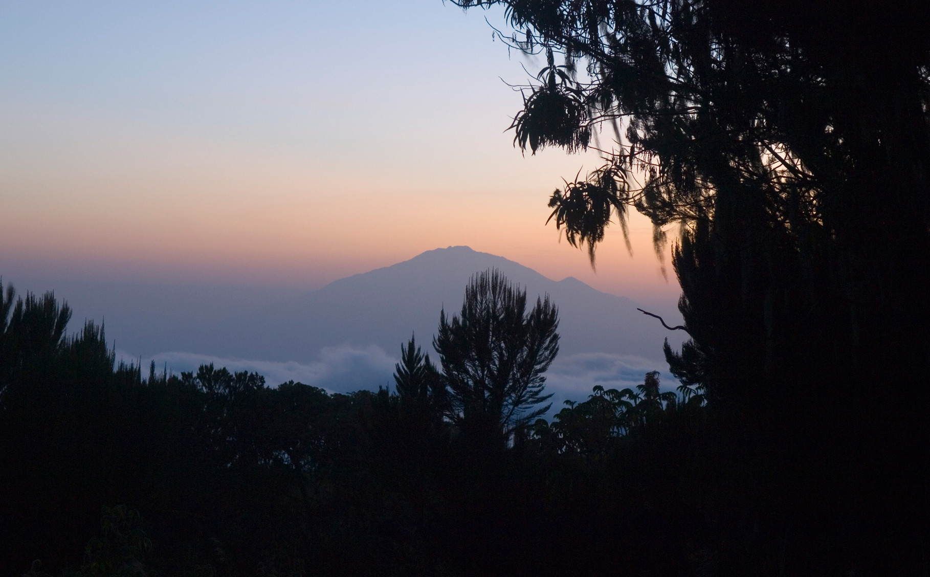 Mount Meru by dusk, 2012