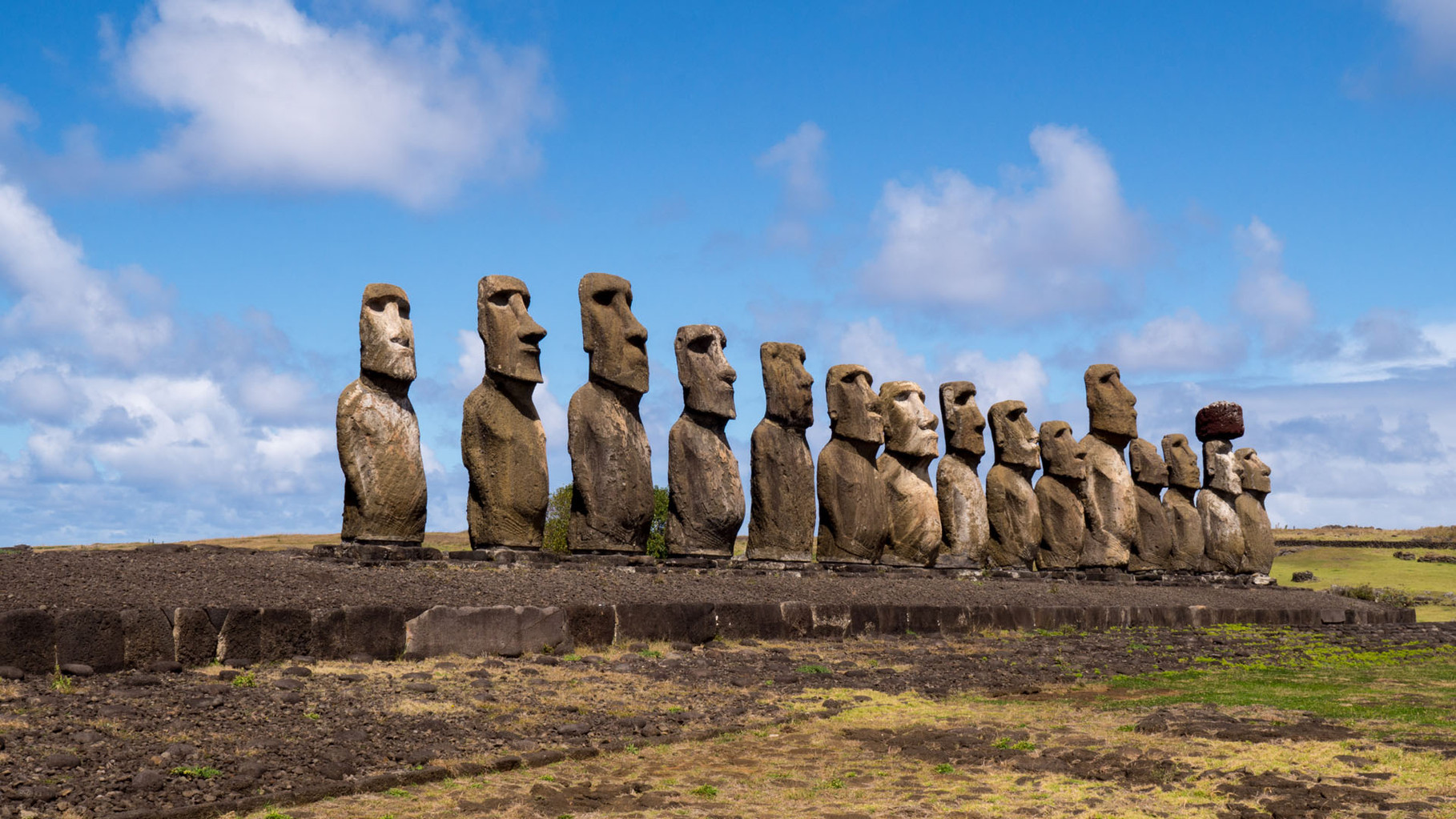 Moai´s at Tongariki