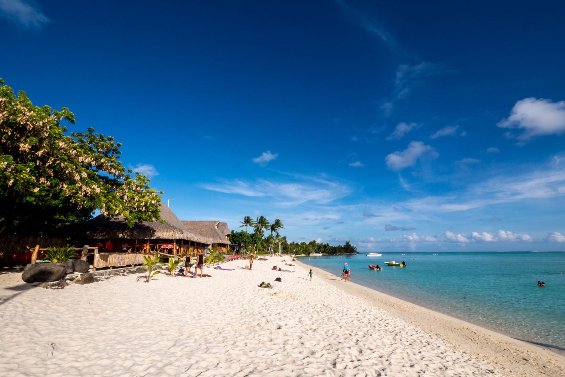 Matira beach, Bora Bora [French Polynesia, 2014]