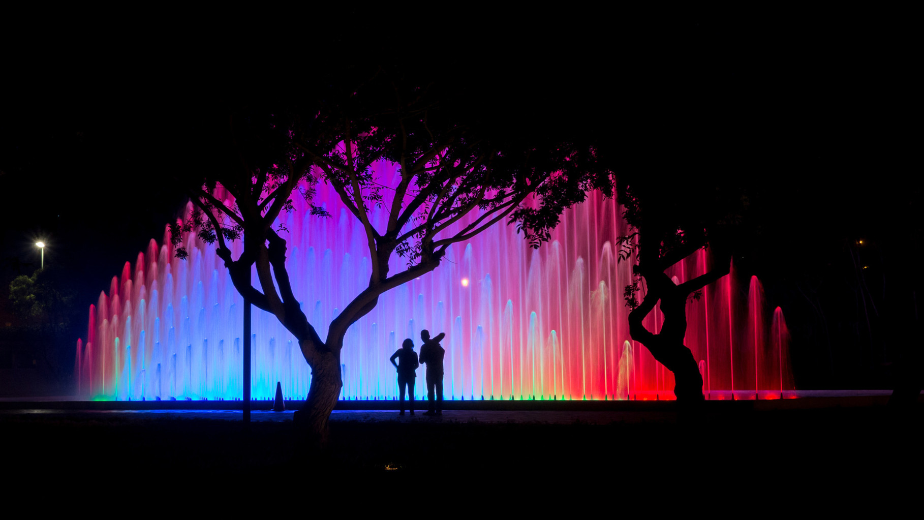 """Rainbow Fountain"""