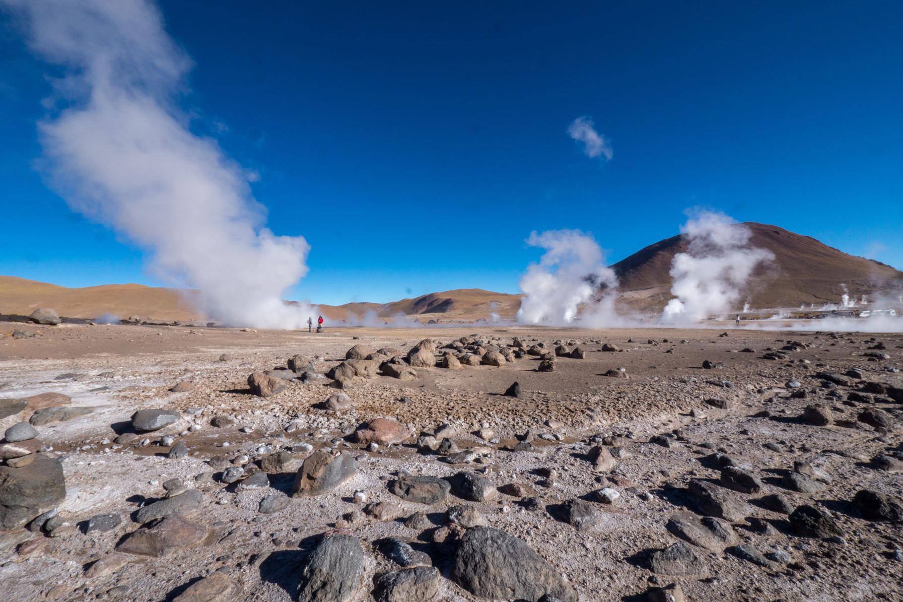 Geyser del Tatio (4.320 masl), near San Pedro de Atacama, Chile