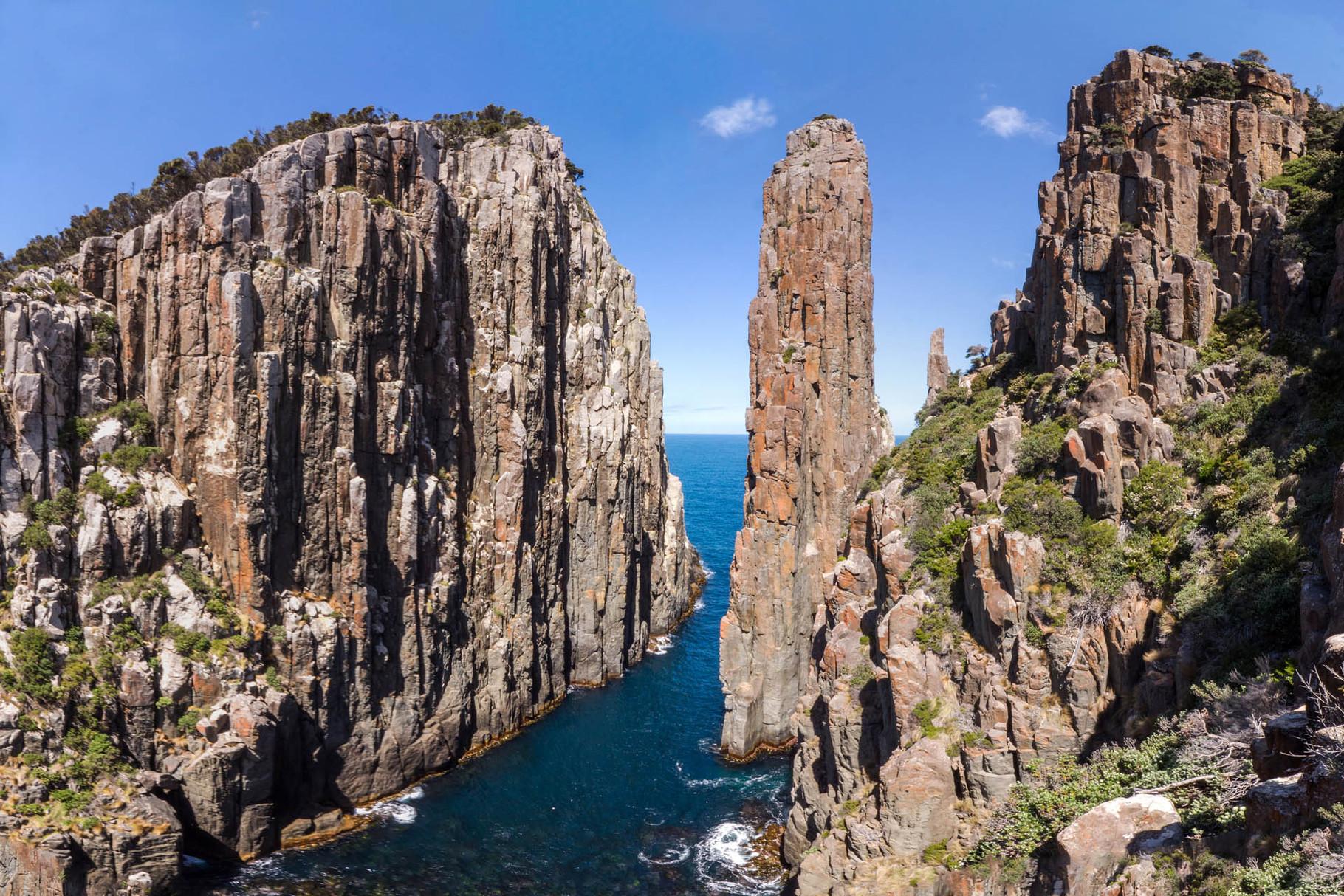 Candlestick and Totempol at Cape Hauy, Tasmania [Australia, 2014]