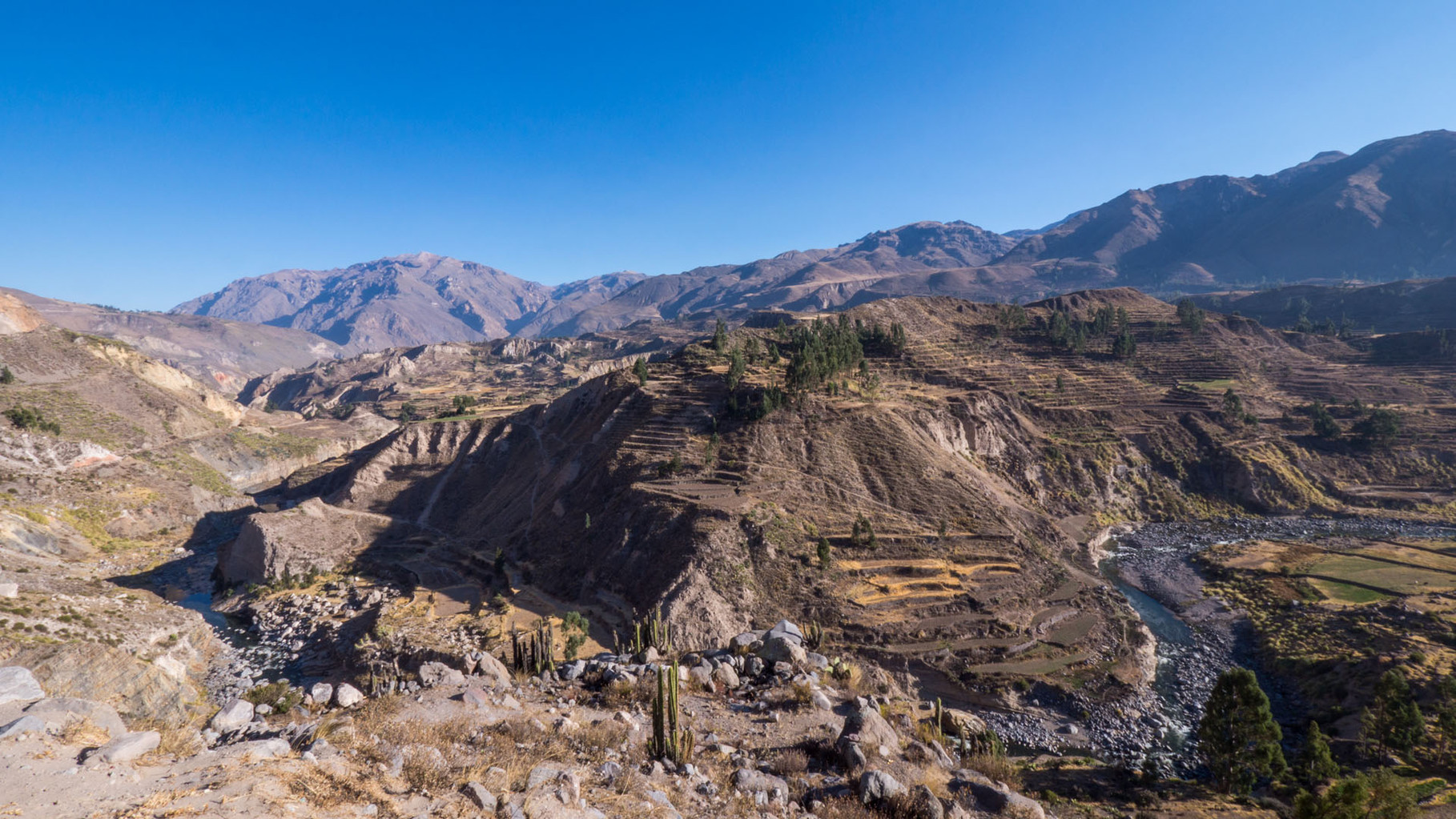 Colca canyon: One of the deepest canyons worldwide