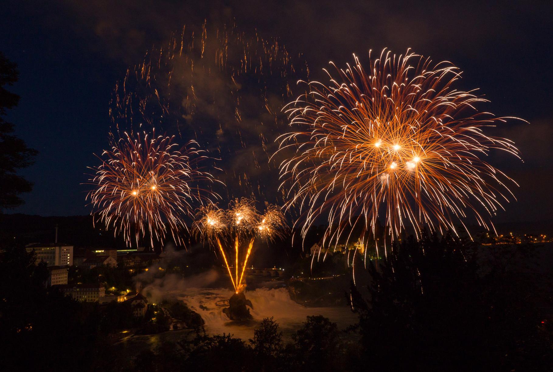 Rheinfall firework