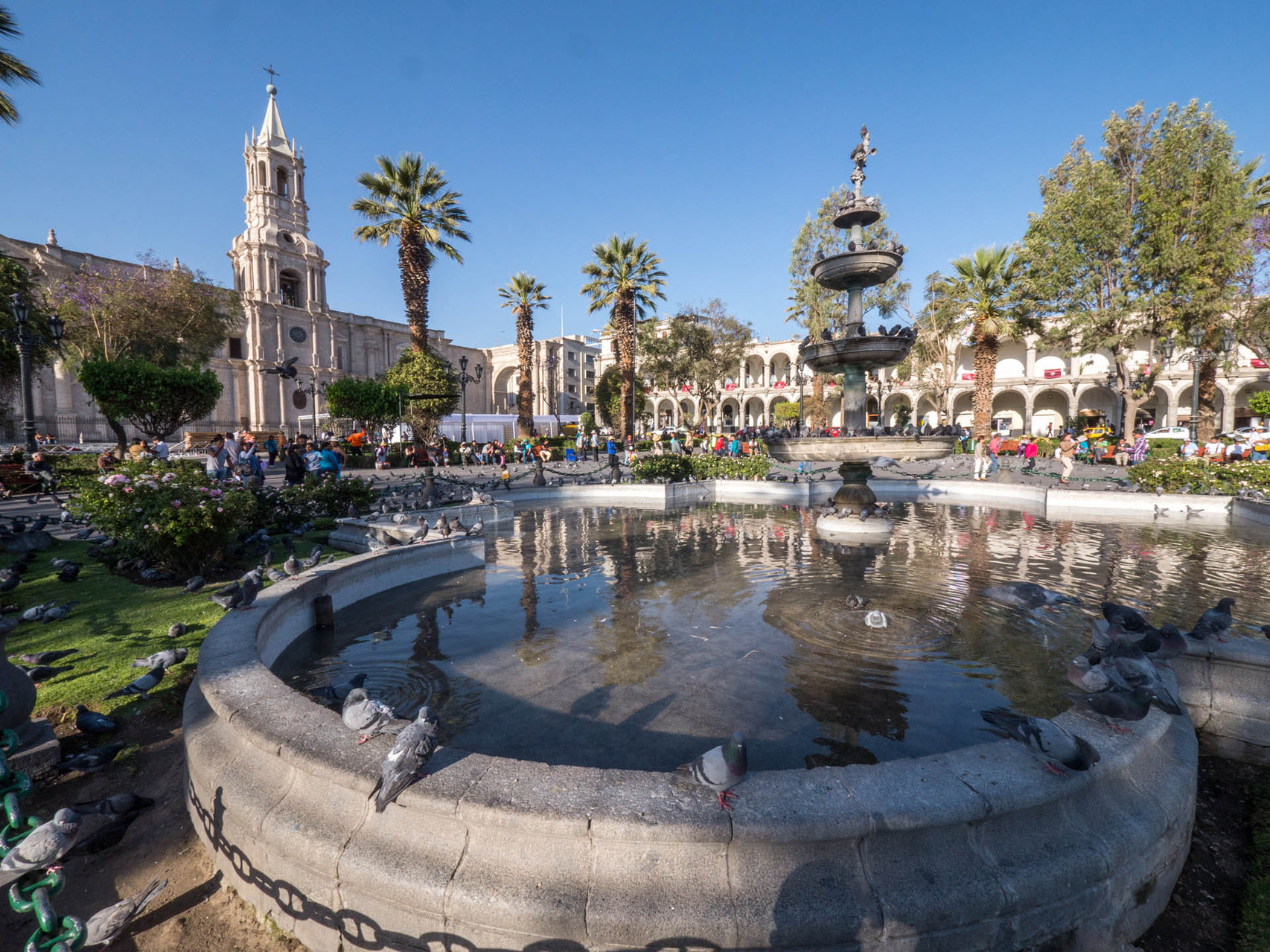 Main plaza of Arequipa