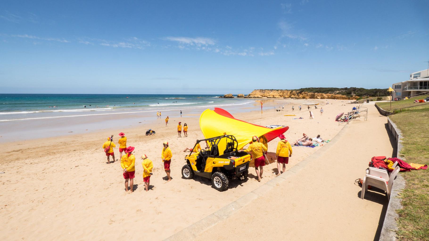 Surf Watch at Torquay Surf Beach [Australia, 2014]