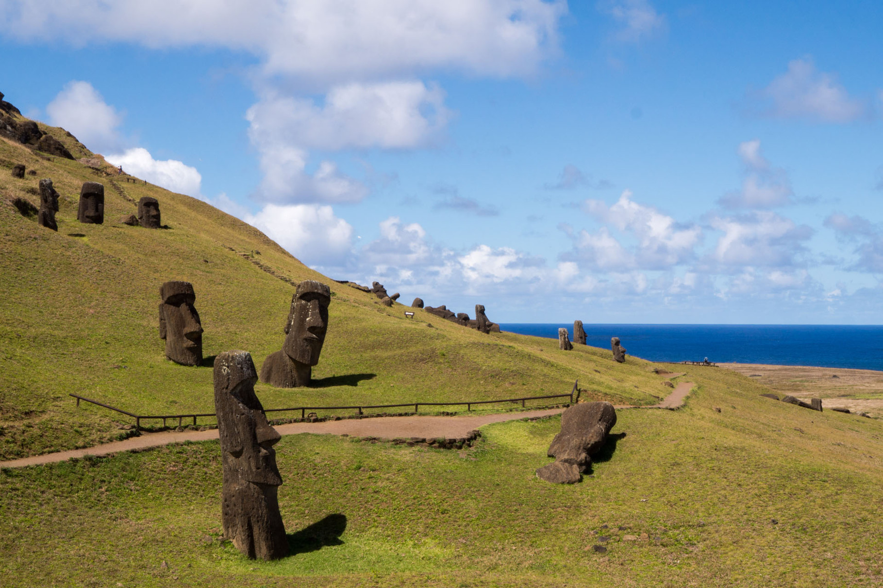 "Rano Raraku volcano: ""Birthplace"" of all Moai´s, Easter island [Chile, 2014]"