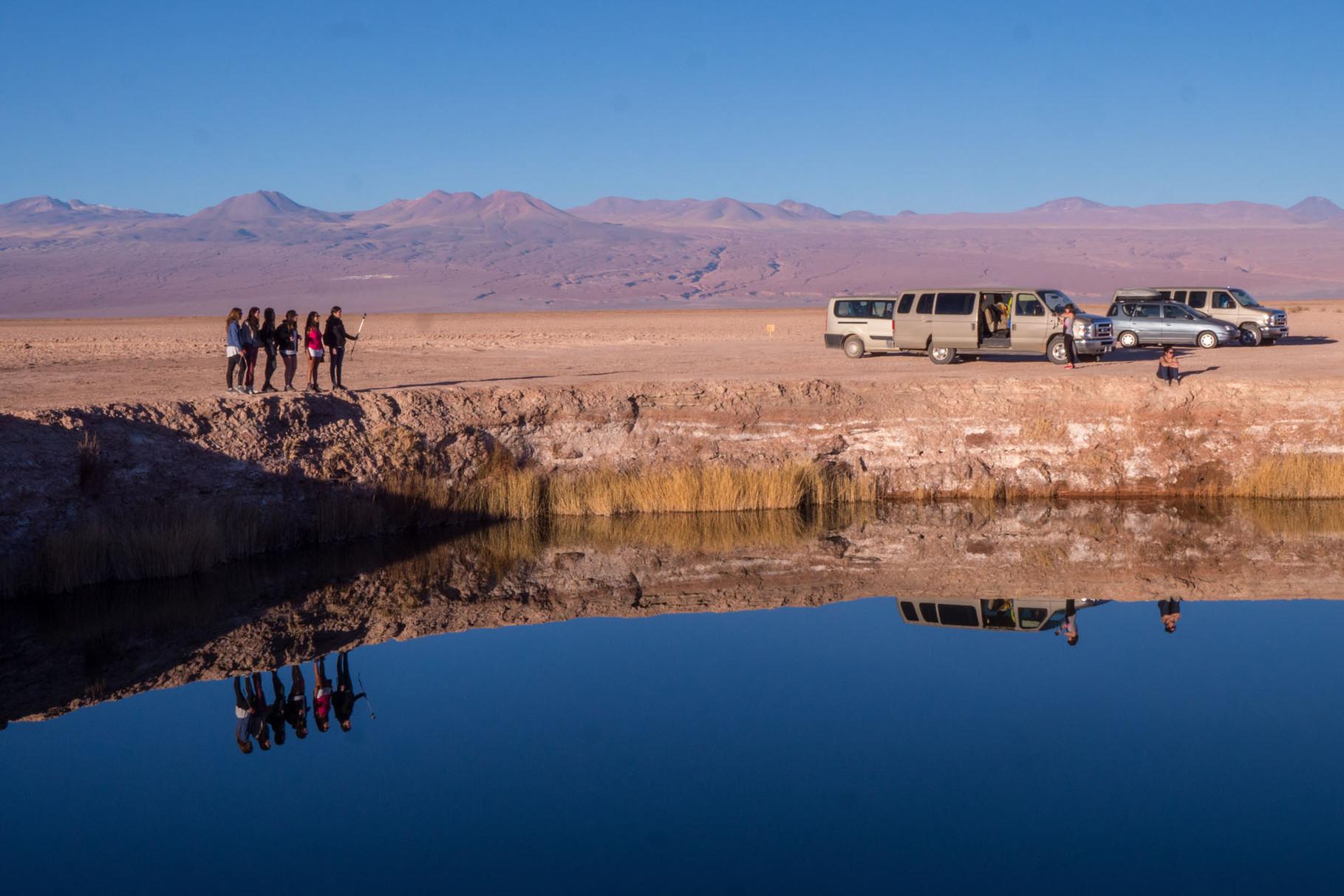 Ojos del Salar, near San Pedro de Atacama, Chile