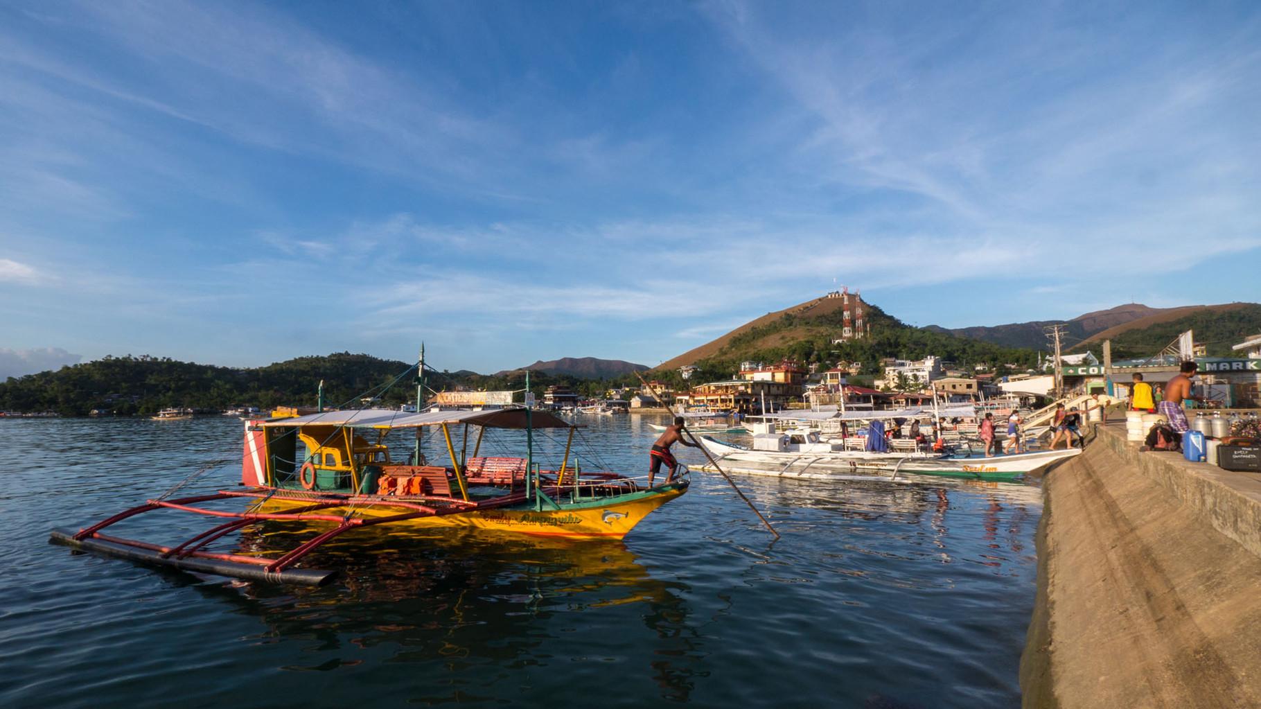 Dive boat,Coron
