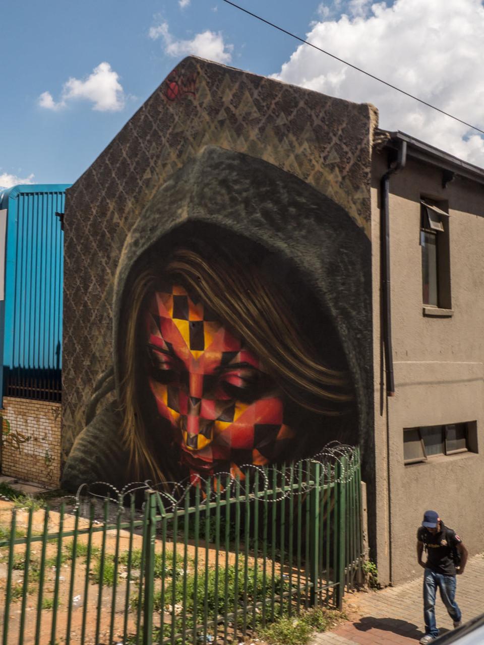 Great street art, Johannnesburg