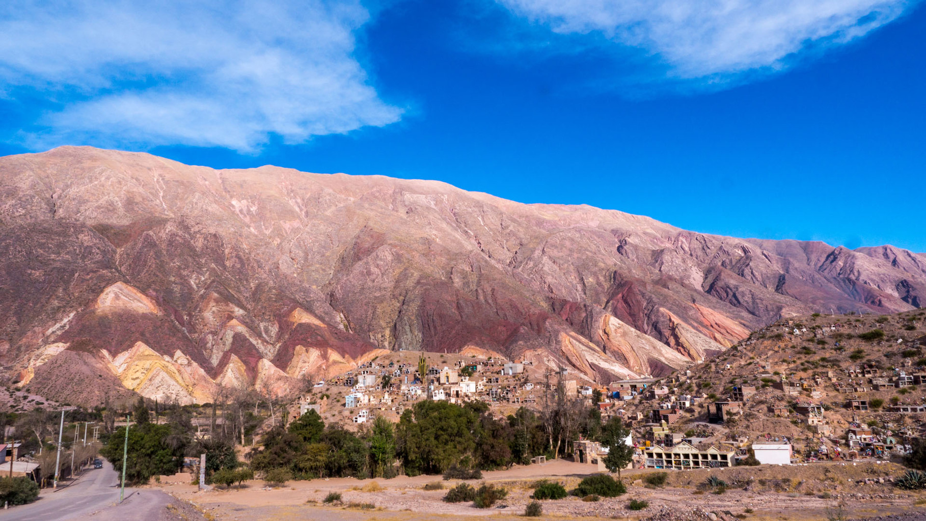 """Painter's Palette"", near Humahuaca, Argentina"