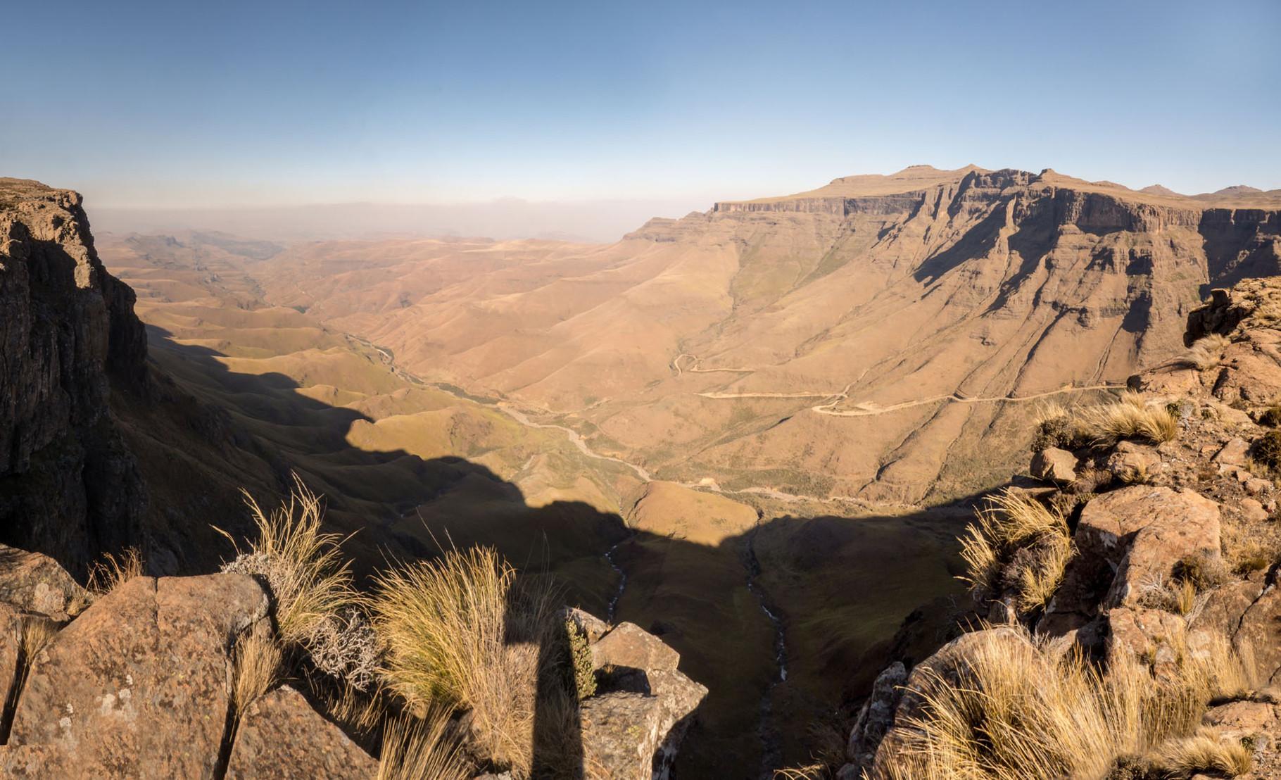 Sani pass to Lesotho