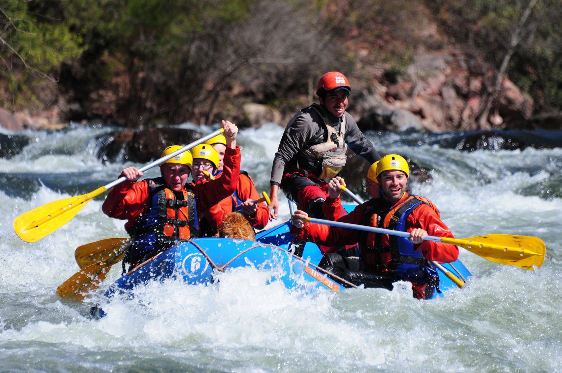 River rafting Rio Juramento, Salta, Argentina