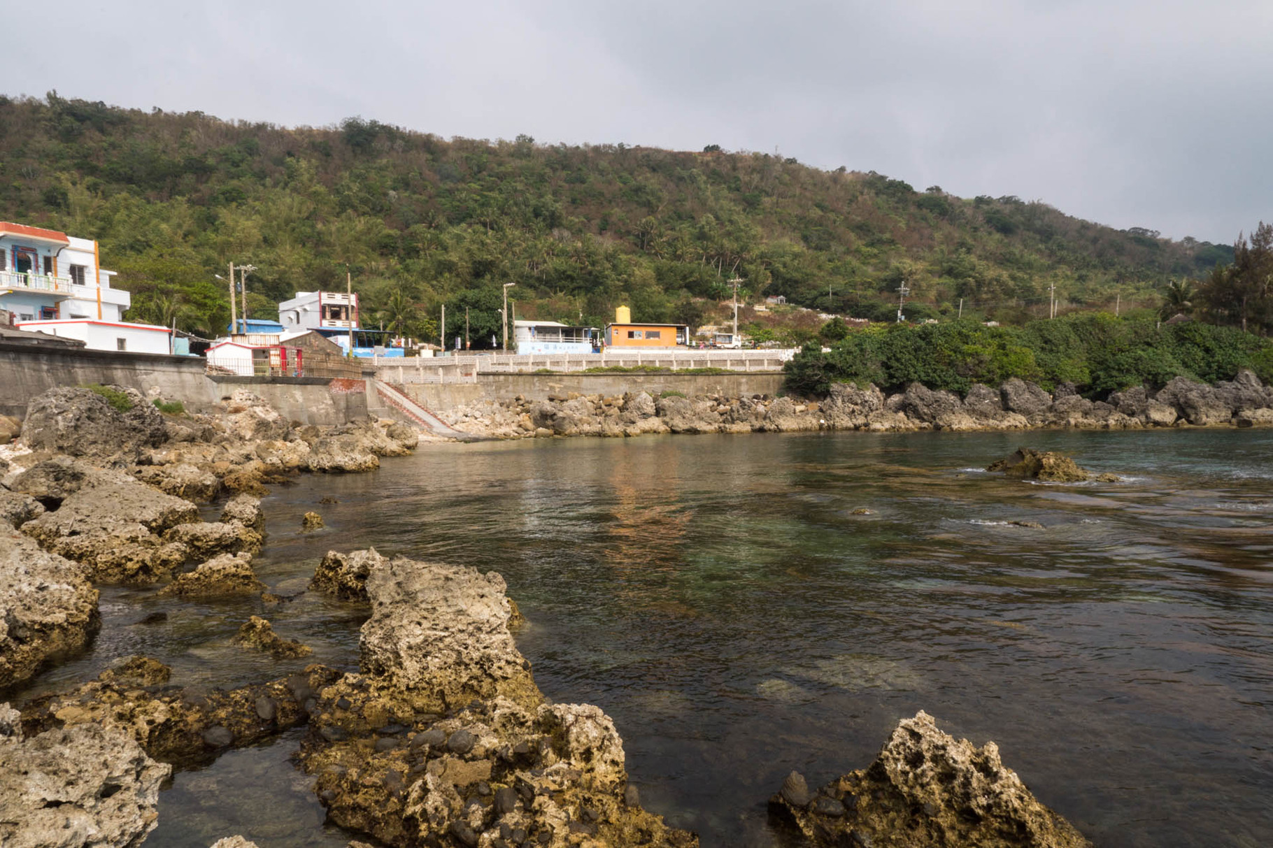 Harbour in Kenting National park in Southern Taiwan