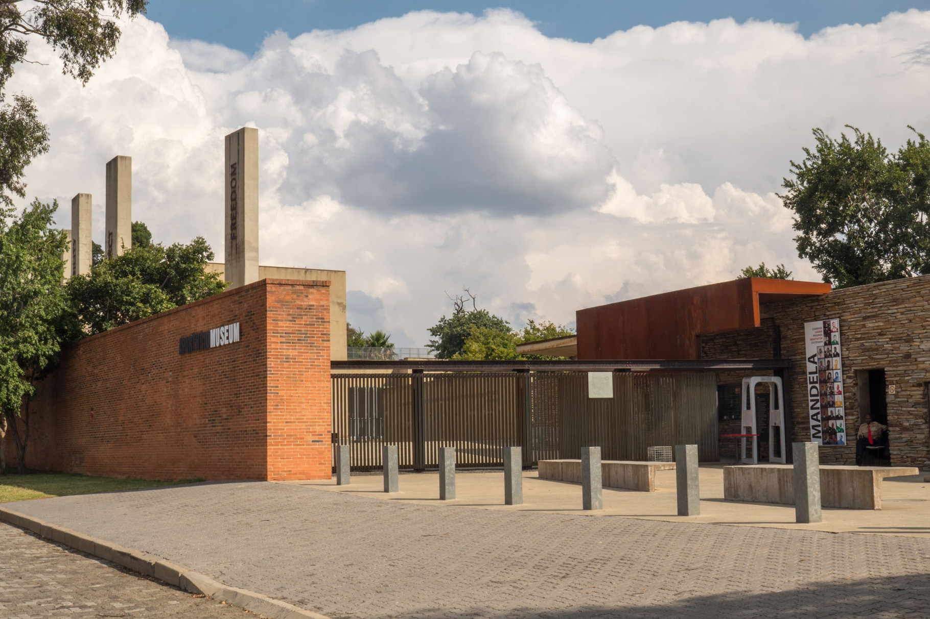 Apartheid museum, Johannnesburg