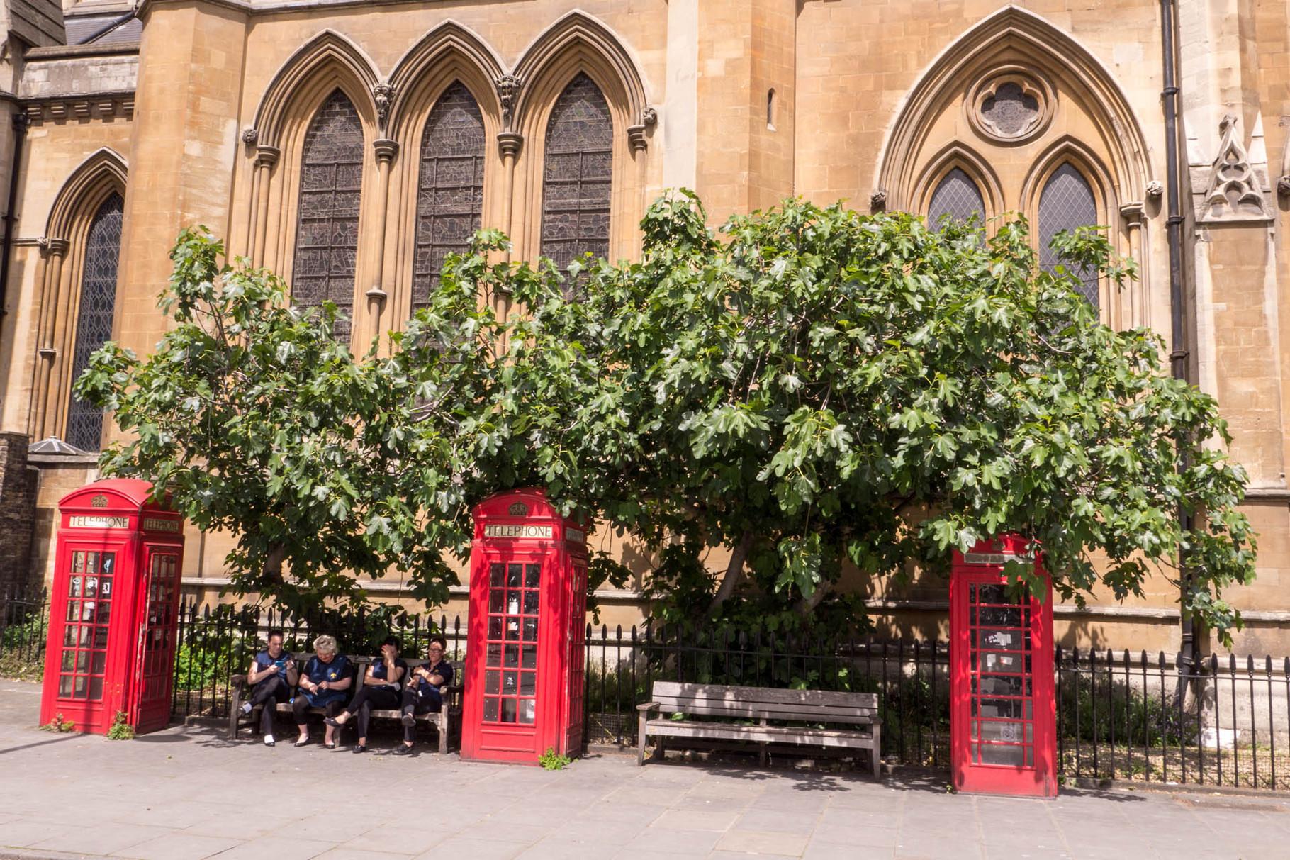 Telephon booths, London