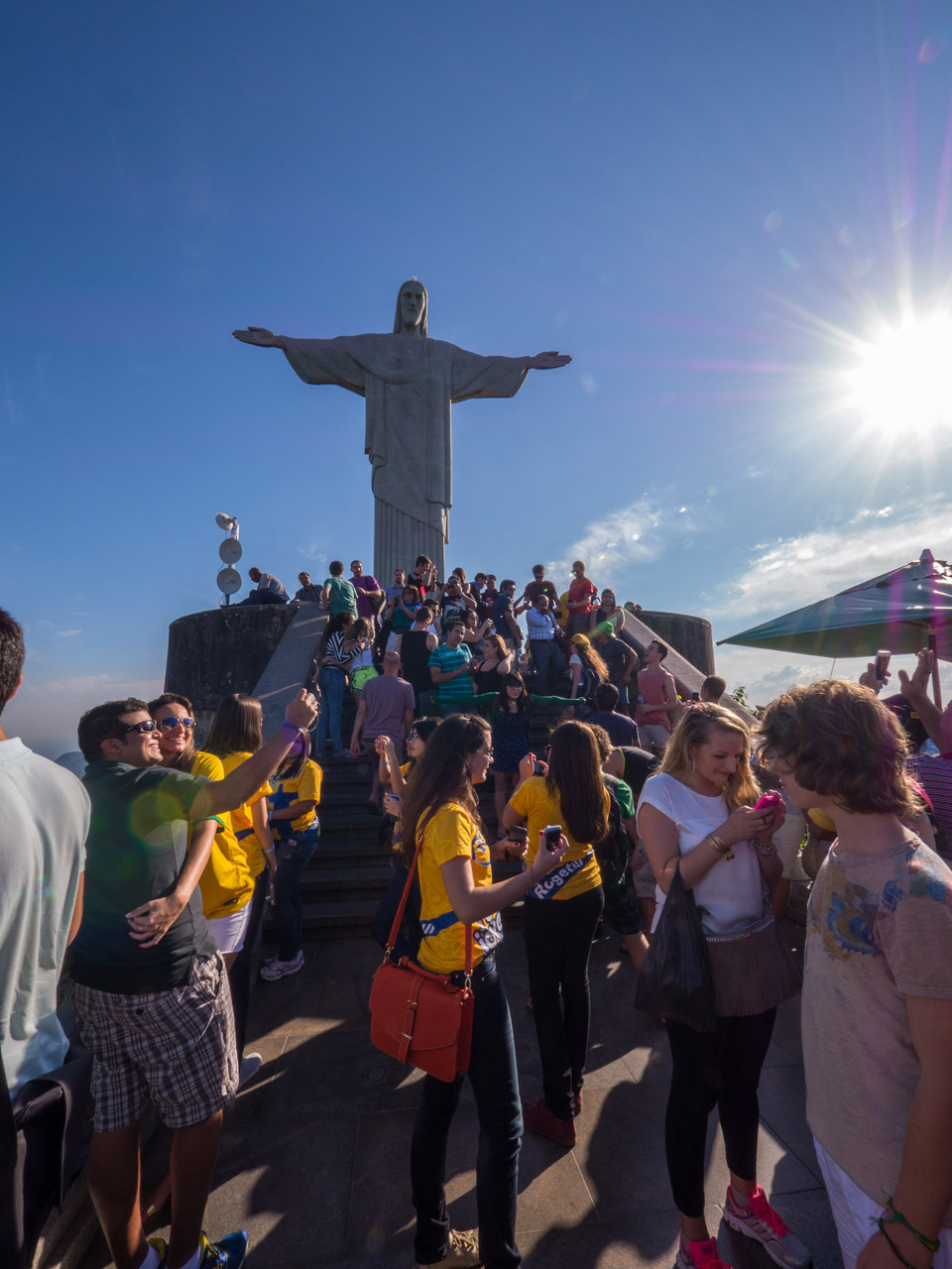 Corcovado (Christ the Redeemer statue) [Brazil, 2014]