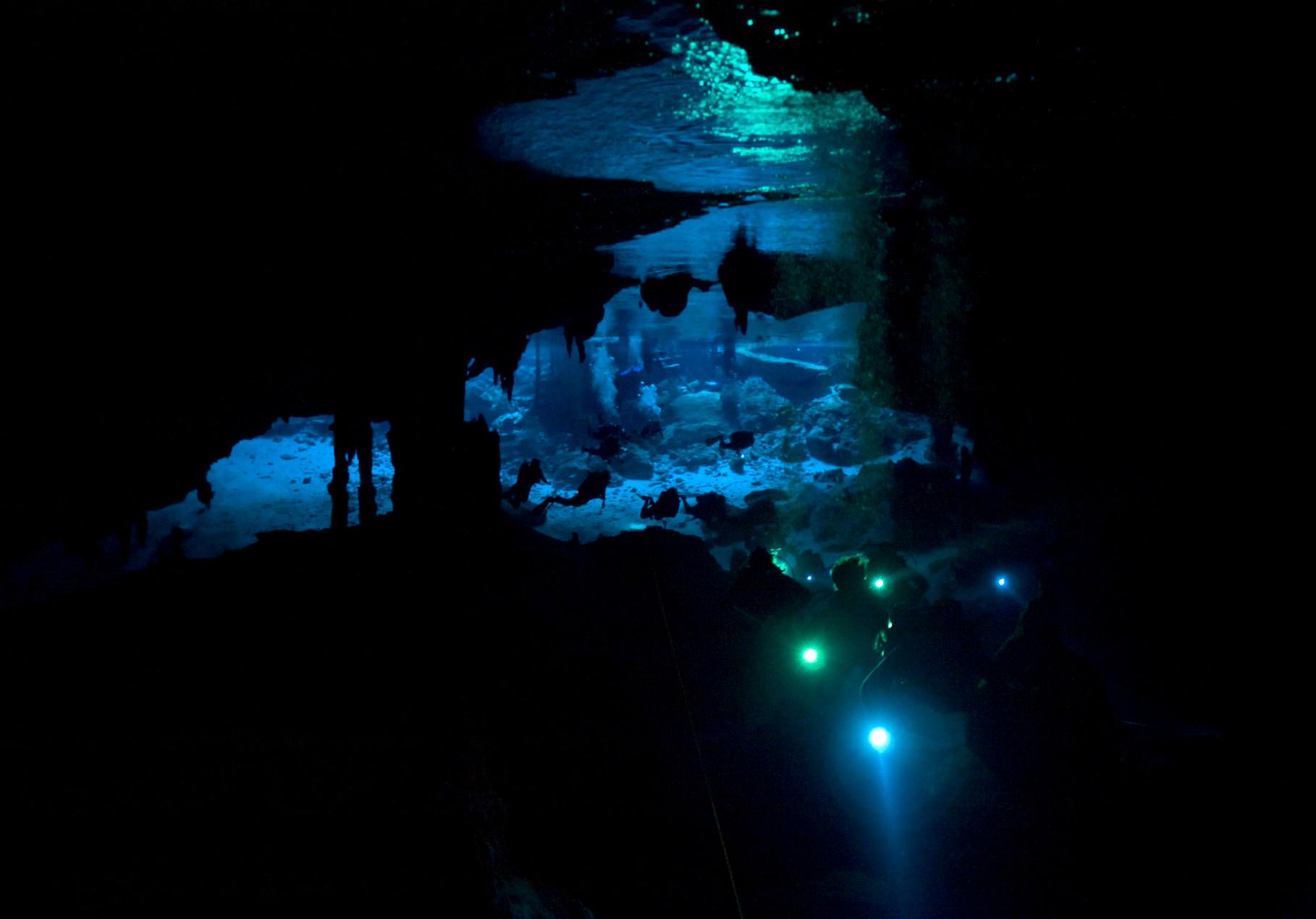 Cenote Dos Ojos [Mexico, 2009]