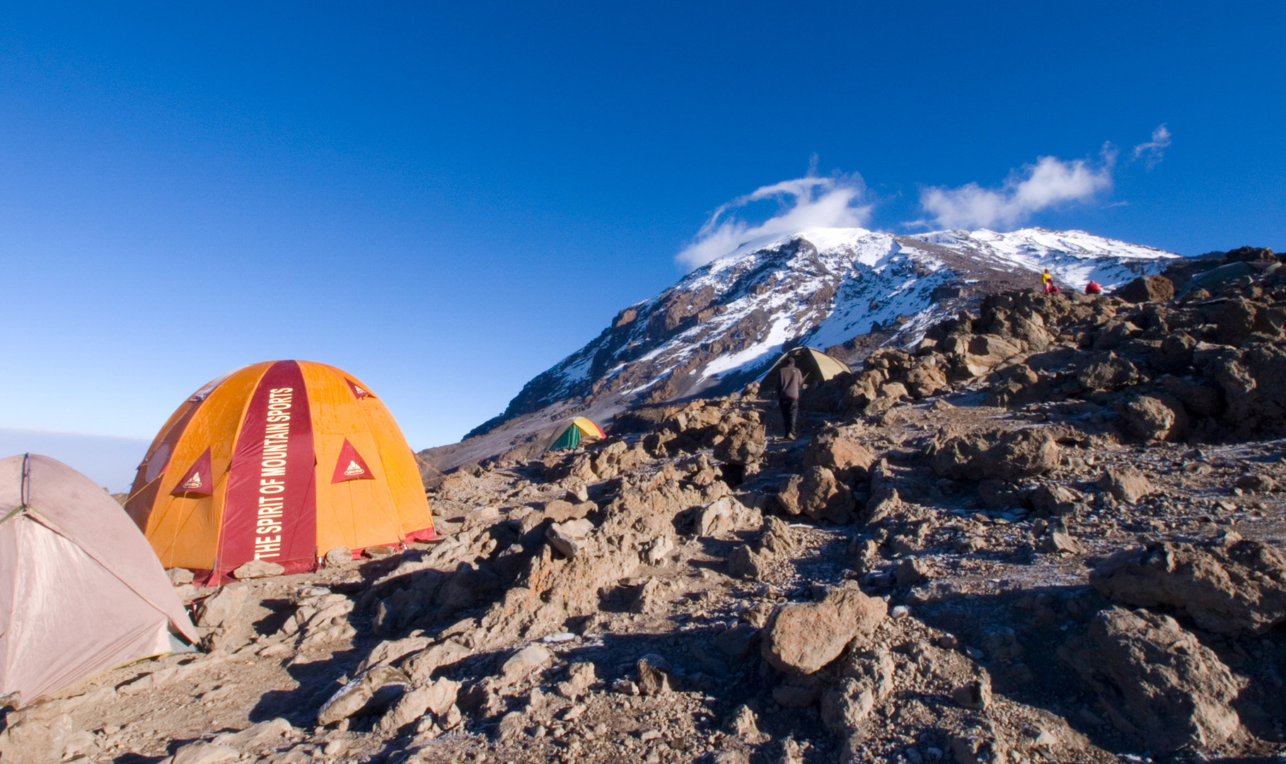 Base camp at Kilimanjaro, 2012