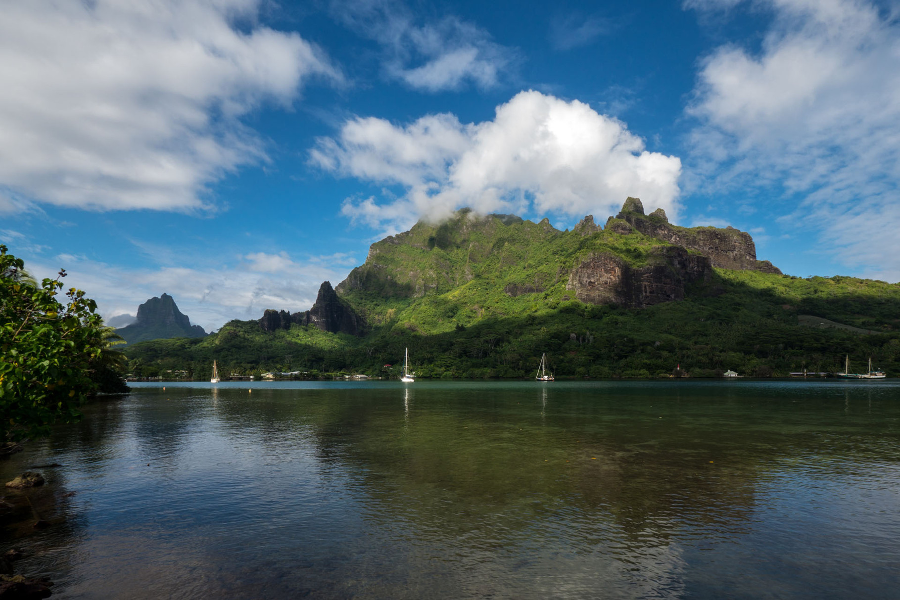 Cook bay, Moorea
