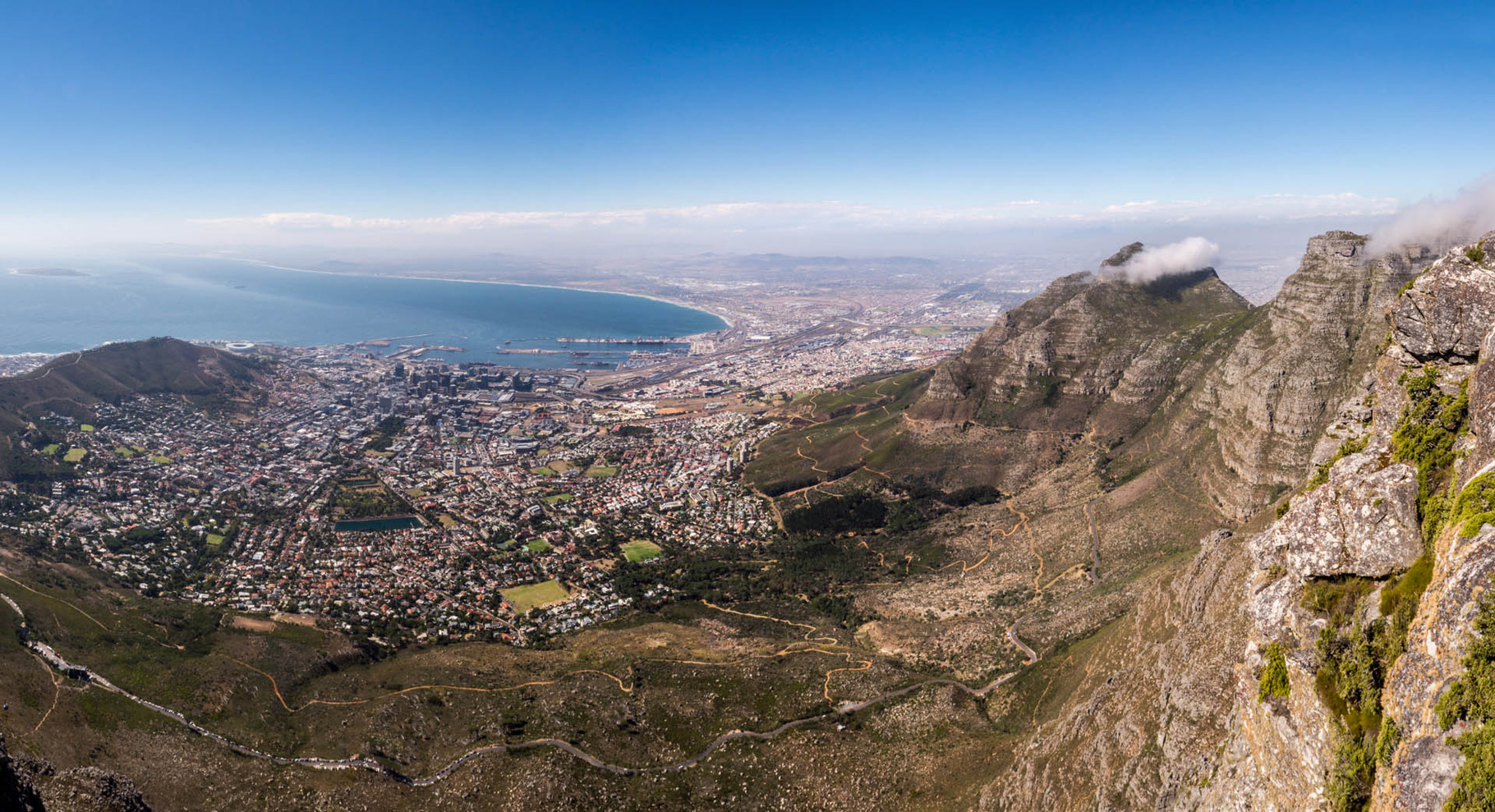 Cape Town, view from Table mountain