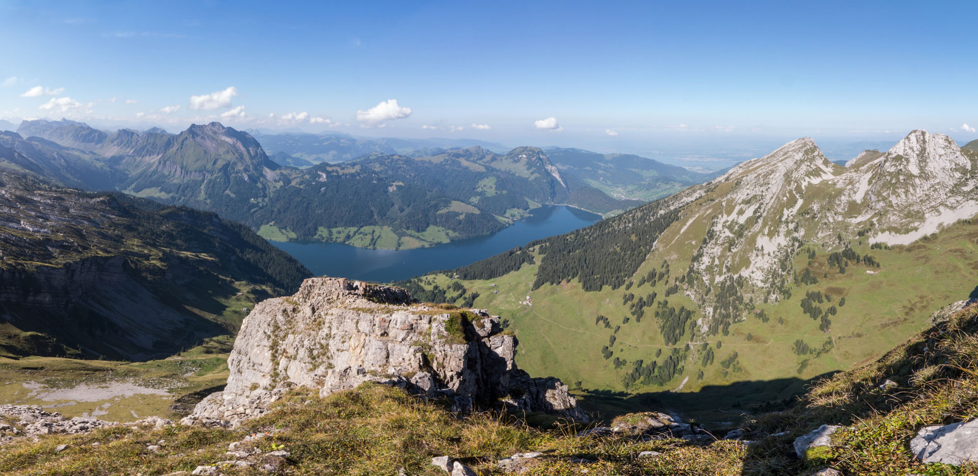 View from Rigi Hochflue