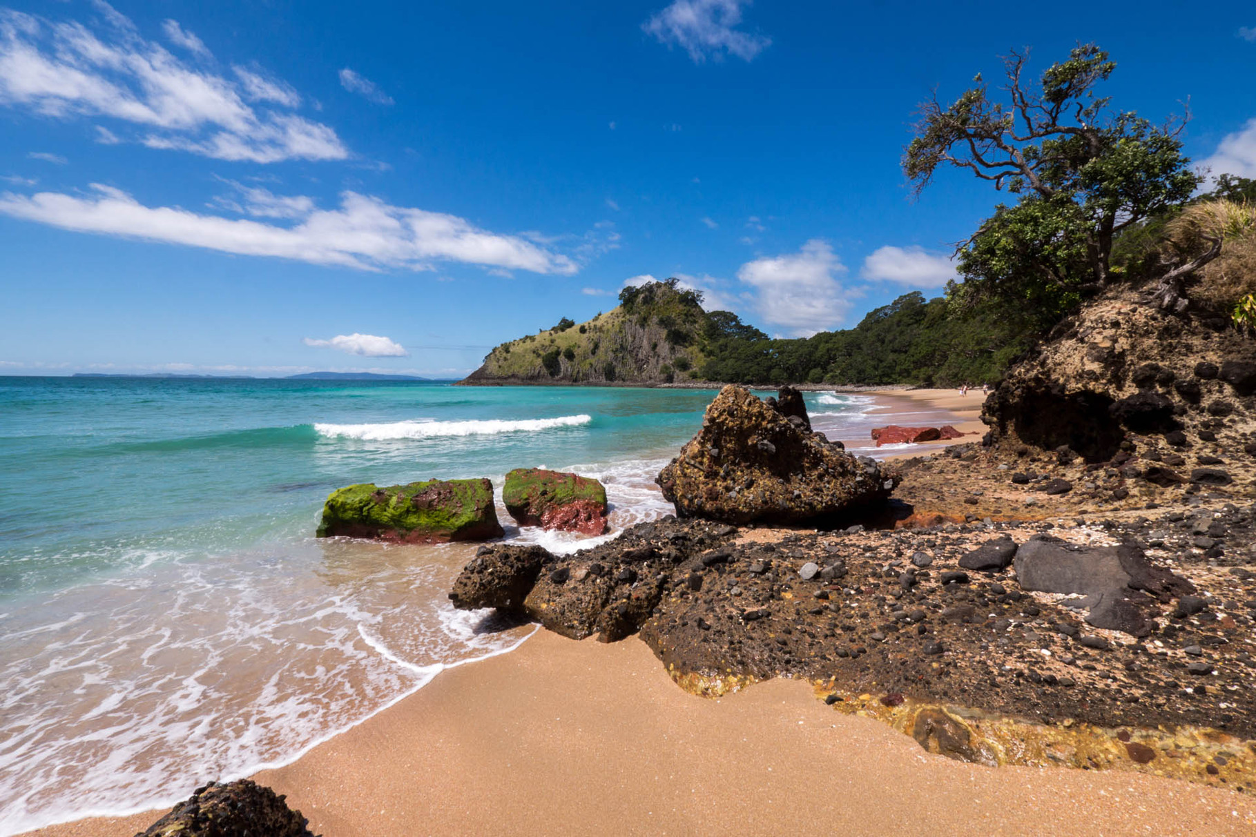 New Chums Beach, Coromandel Peninsula