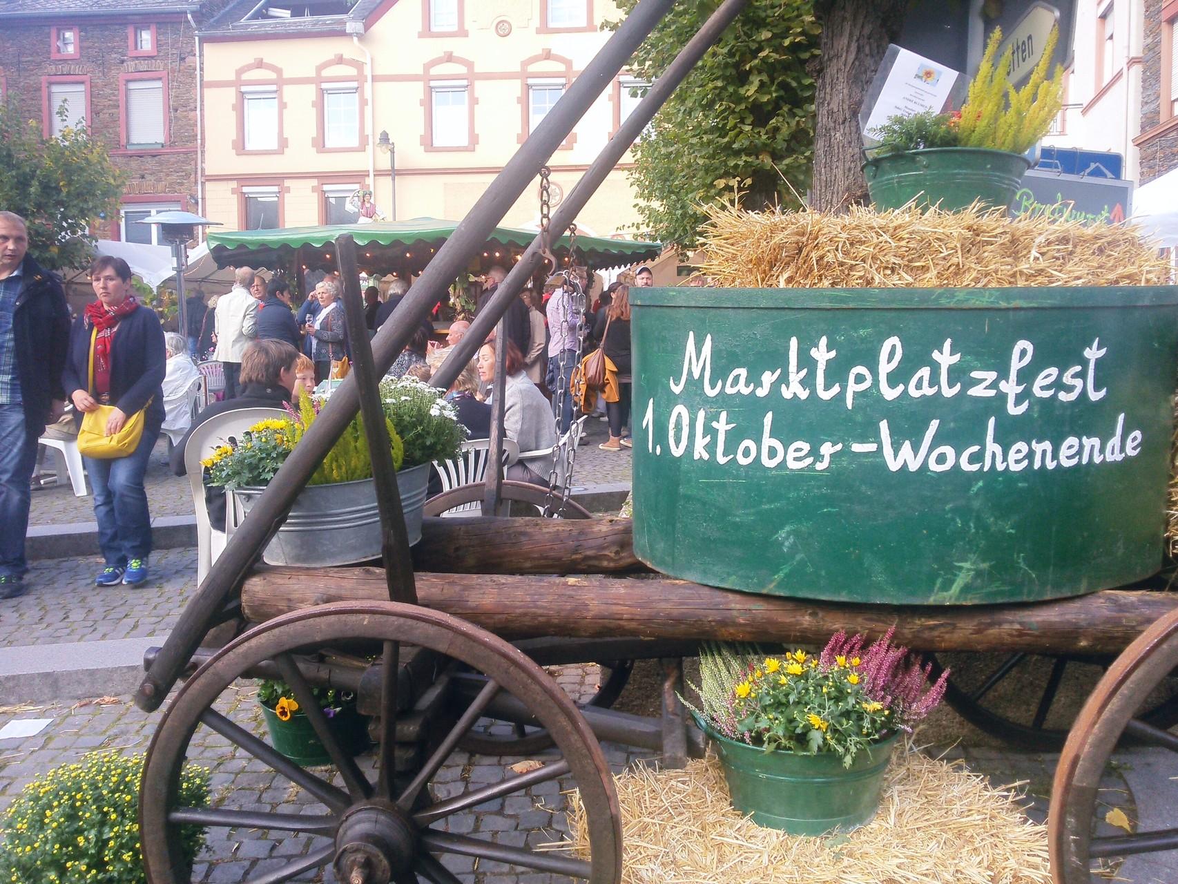 Marktplatzfest in Traben-Trarbach 2015