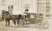 Herrschaftliche Kutsche um 1870 (Quelle: Wikipedia)