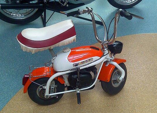 Mini Marcellino Italiana Primera Serie pero con motor Malaguti, no original de fábrica